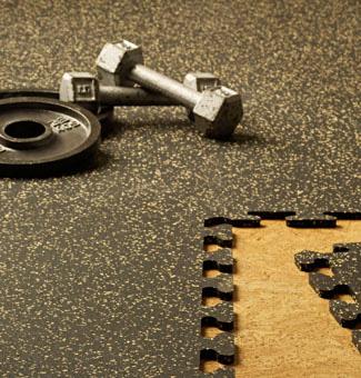Quikfit Interlocking Rubber Tiles
